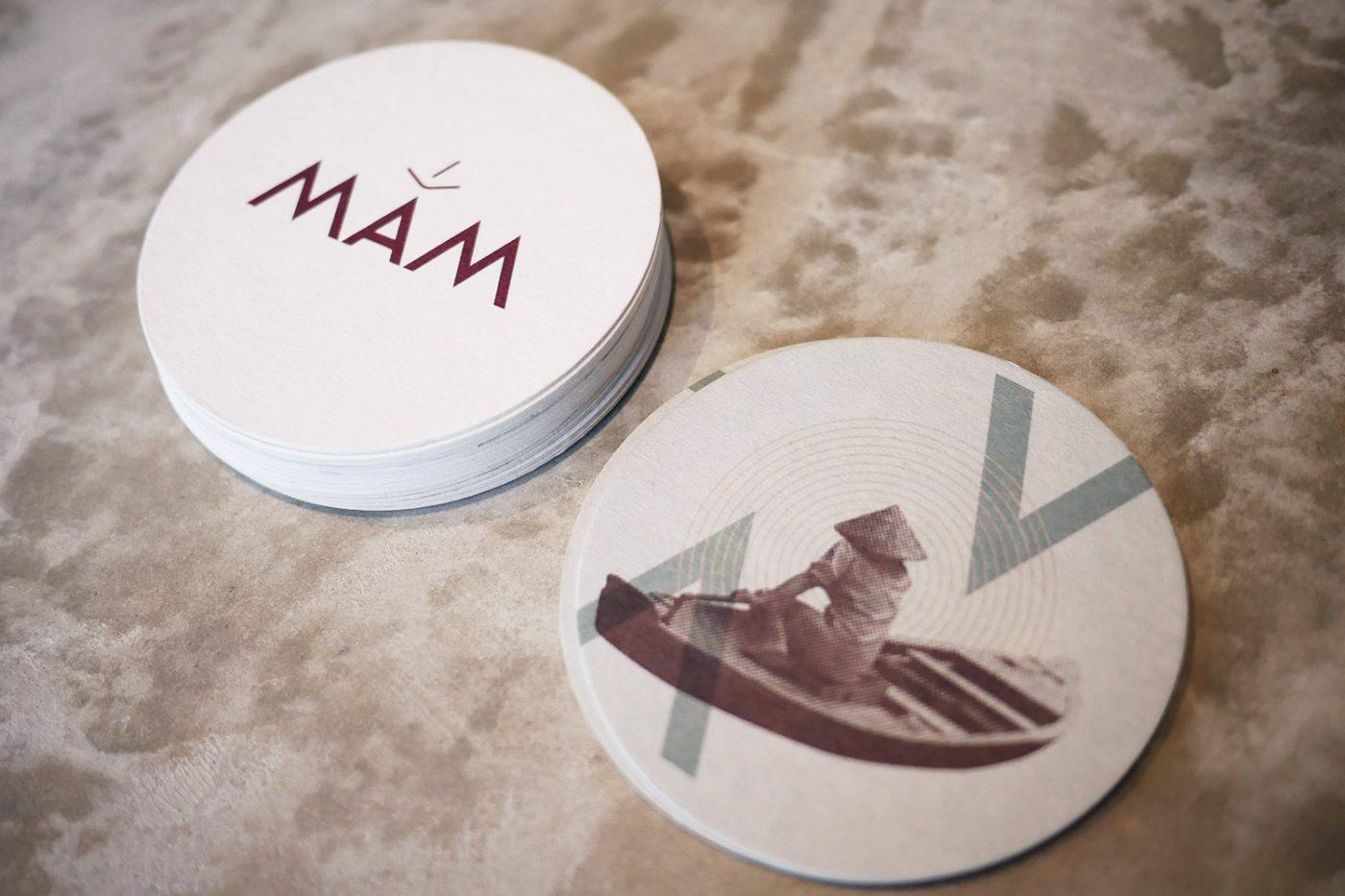 Mam_Restaurant_bar_Design_details_interior_branding_coaster_logo_vietnamese